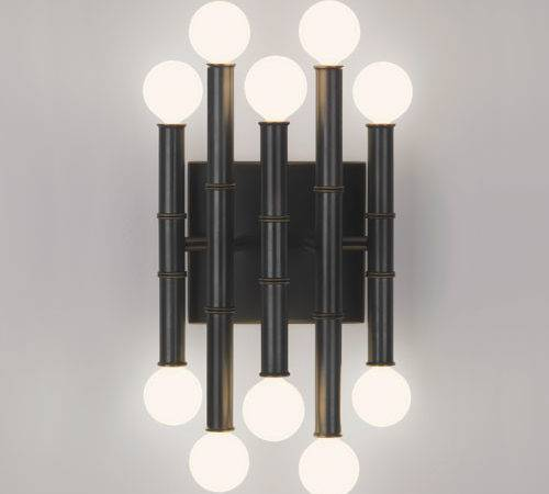 Abbey Jonathan Adler Meurice Arm Sconce Midcentury Wall Sconces