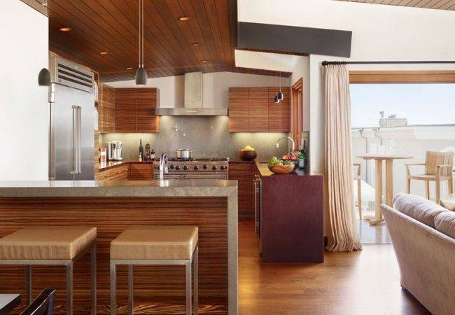 Abgeh Ngte Holzdecke Ideen Eine Moderne Deckengestaltung