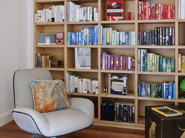 Abode Bookshelves Plywood Bookcases Small Bookcase Study