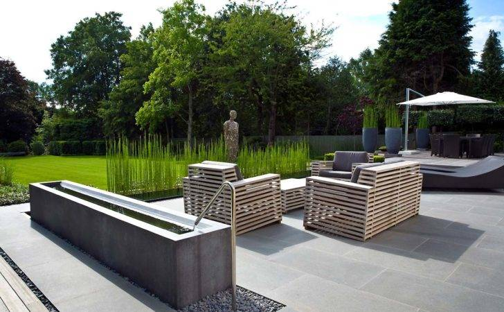 Above Anthony Paul Landscape Design Clean Minimal Geometry