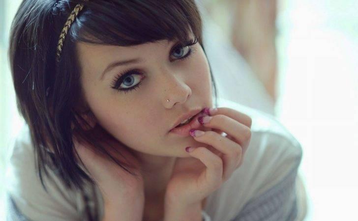 Above Cute Girl