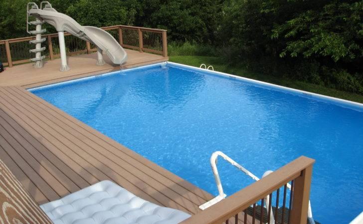 Above Ground Pool Custom Decks Pools Omaha