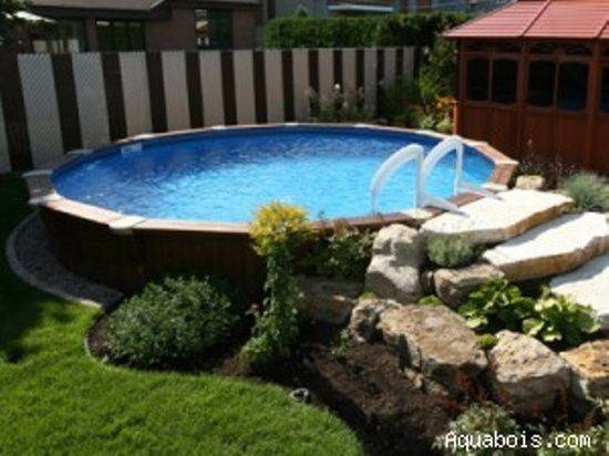 Above Ground Pool Deck Ideas Fabulous Landscaping Pools