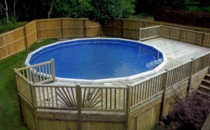 Above Ground Pool Deck Plans Decks