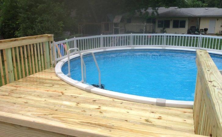 Above Ground Pool Ideas Landscaping Design Orlando Pools