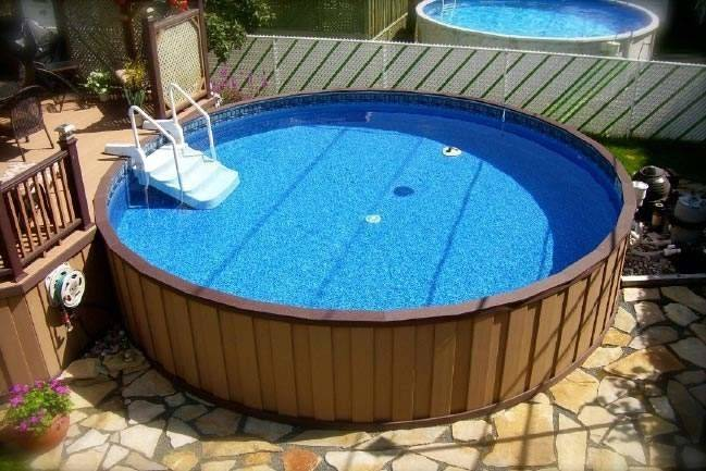 Above Ground Pool Ideas Small Yards Posted