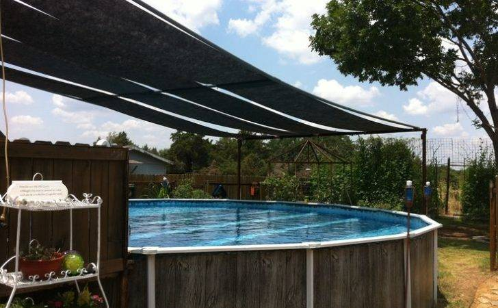 Above Ground Pool Shade More Hot Tub Ideas Accesorios