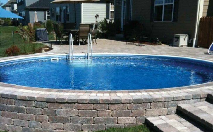 Above Ground Pools Decks Outdoor Party Stunning