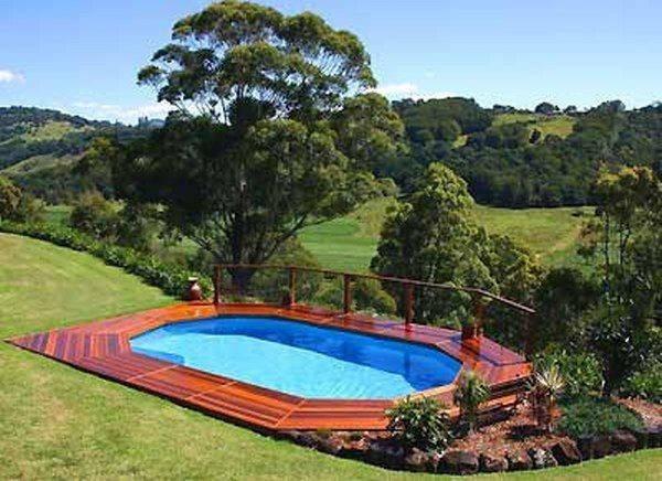 Above Ground Pools Landscaping Swimming