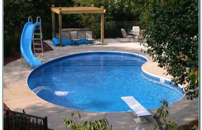 Above Ground Swimming Pools Small Yards Home Decorating