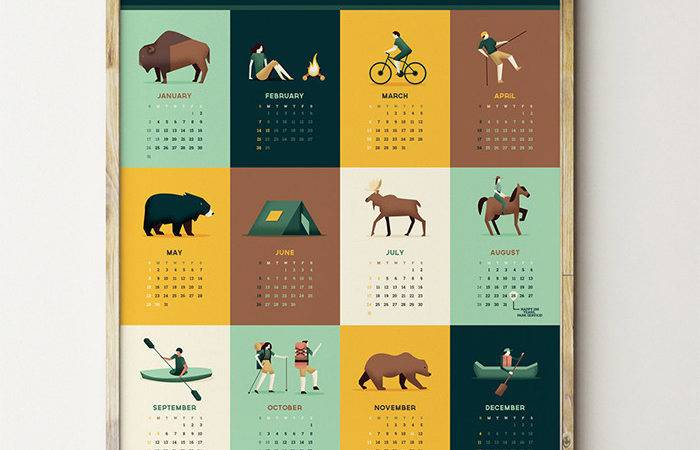 Absolutely Beautiful Calendar Designs Hongkiat