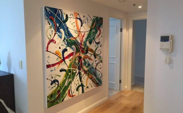 Abstract Art Paintings Interior Design Ideas