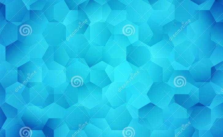 Abstract Bright Blue Illustration Modern Aqua Design