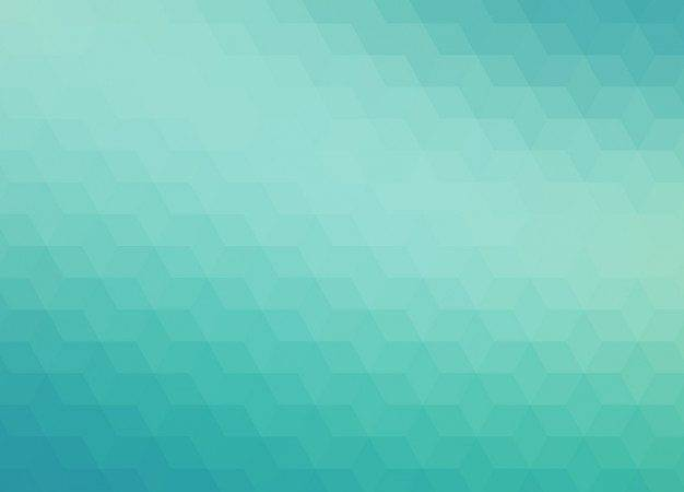Abstract Geometric Turquoise Tones Vector