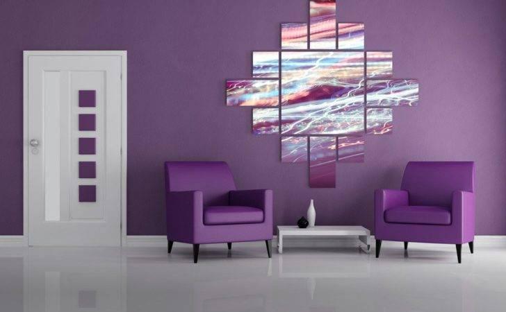 Abstract Prints Big Modern Interior Design Alexei Rebrov Art