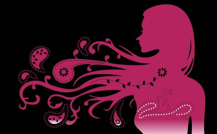 Abstract Psychedelic Girl Pink Awesome