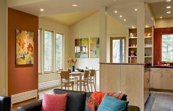 Accent Wall Design Layout Kitchen Paint Colors