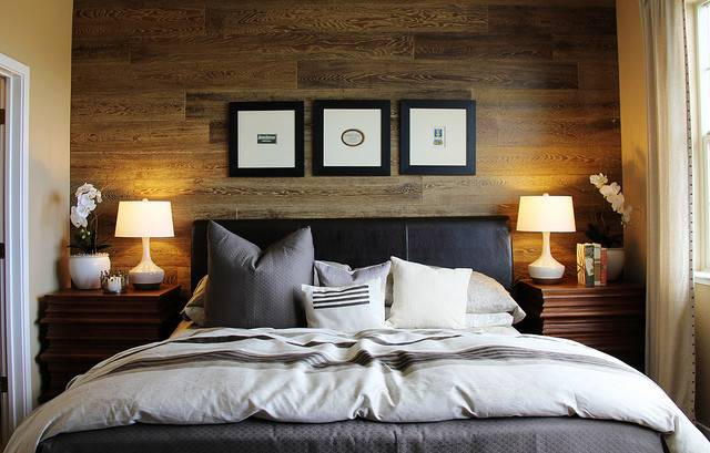 Accent Wall Perfect Backdrop Frame Bed Headboard Master