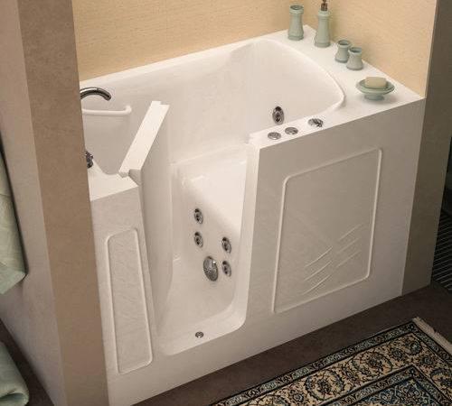 Access Tubs Walk Jetted Bathtub