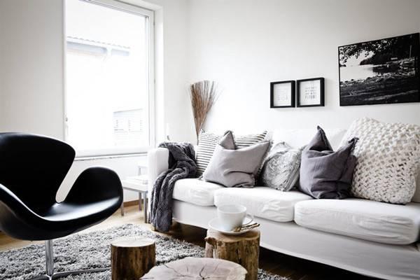 Achromatic Color Scheme Interior Design Choosing Colours