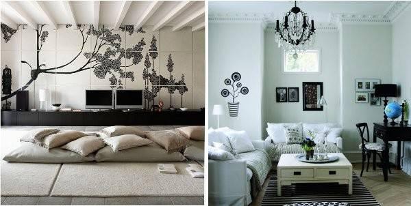 Achromatic Color Scheme Interior Design Examples Successful