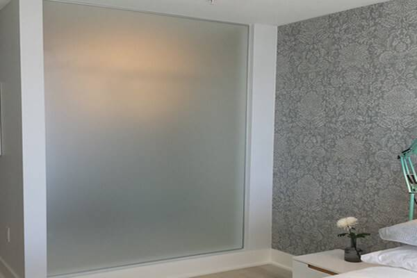 Acid Etched Frosted Glass Pars