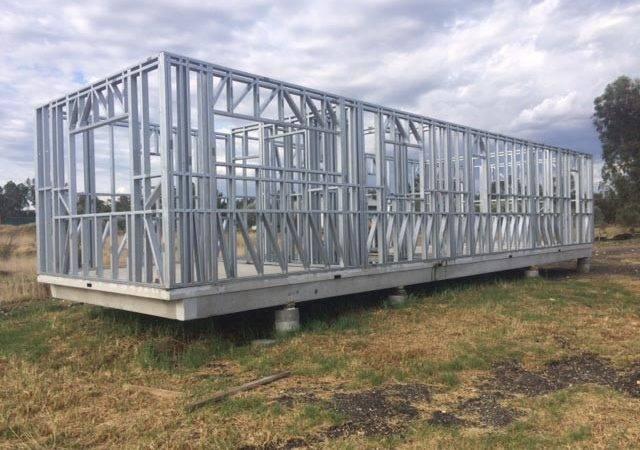 Action Framing Steel Frame Homes Modular House