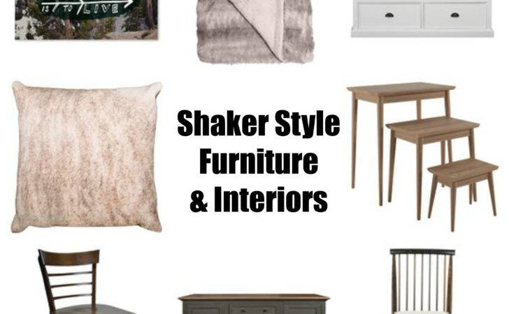 Add Some Shaker Style Furniture Your Interiors Sourced