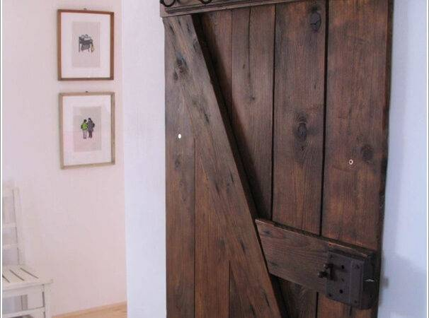 Add Vintage Feel Your Home Recycled Barn Doors