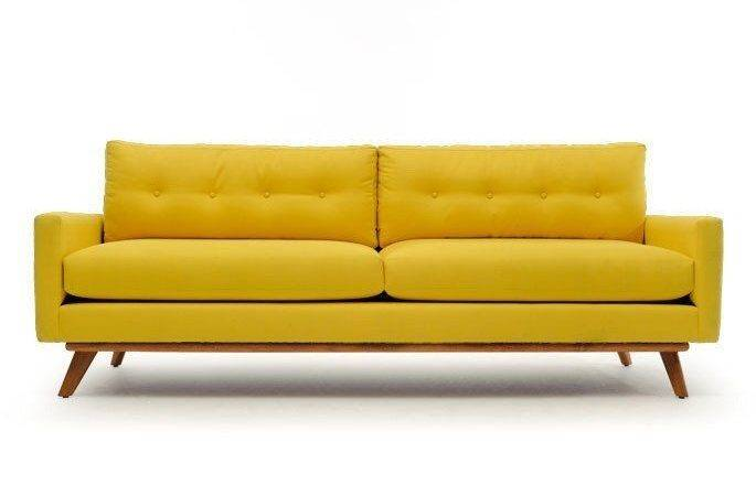 Adding Color Bold Bright Sofas