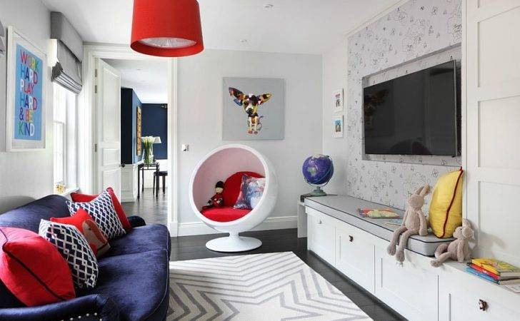 Adds Color Playroom Daybed Design Poss Architecture