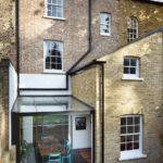 Adds Jewel Like Glass Extension East London House