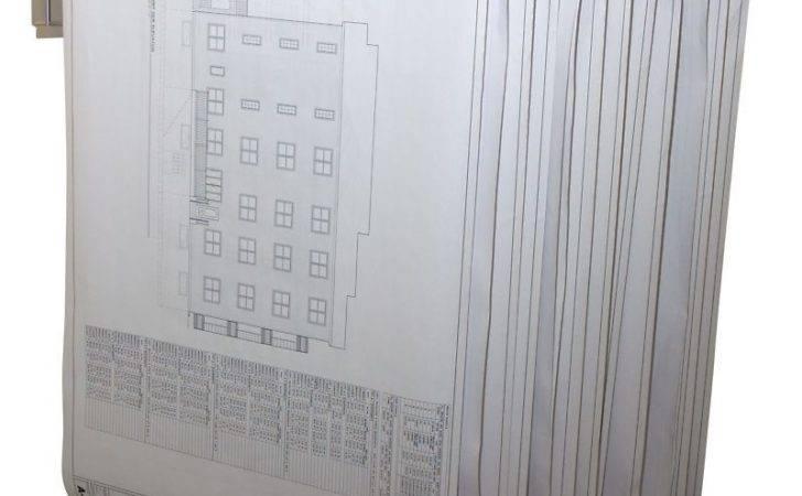 Adir Blueprint Plan Map Pivot Wall Rack Safco