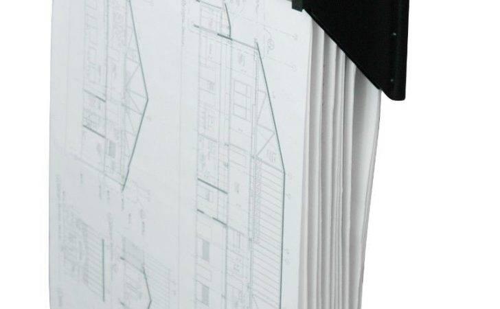 Adir Corp Cubicle Wall Rack Blueprint Map Art