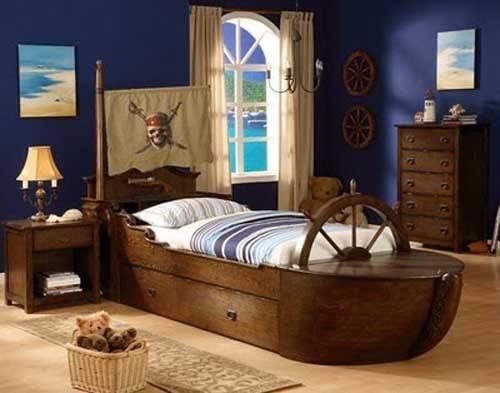 Adorable Ship Beds Litlle Pirates