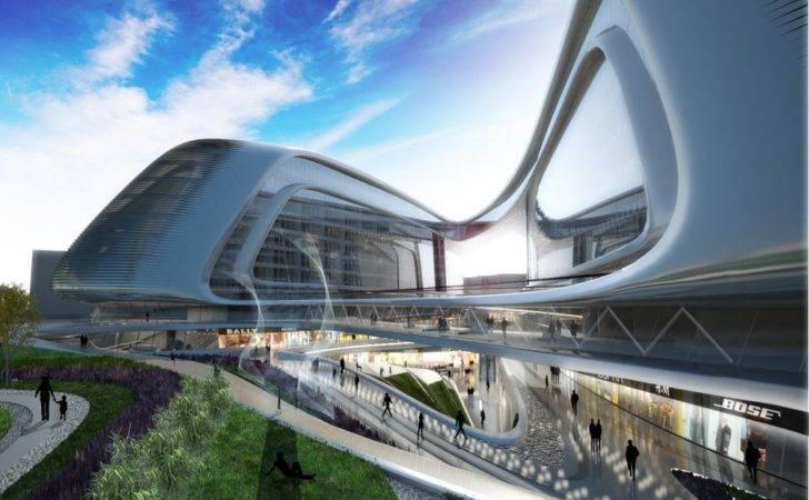 Aeccafe Sky Soho Shanghai China Zaha Hadid Architects