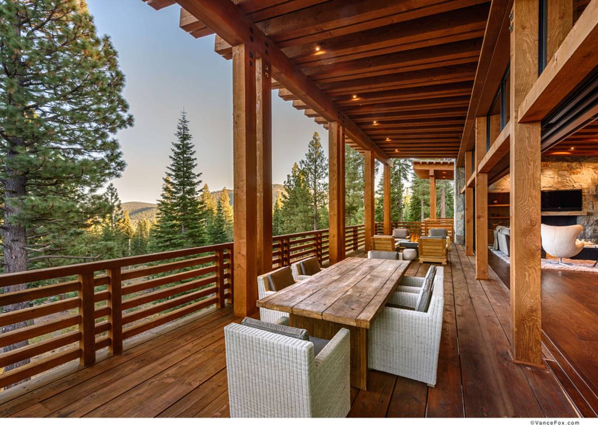 Affordable Minimalist Modern Deck Designs Exterior