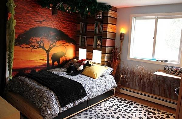 African Style Interior Design Usher Exotic Earthy