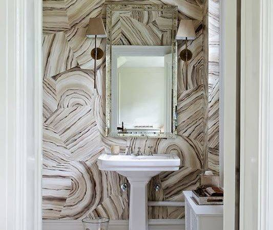 Agate Bathroom Tiles Shower Vanity Mirror Faucets