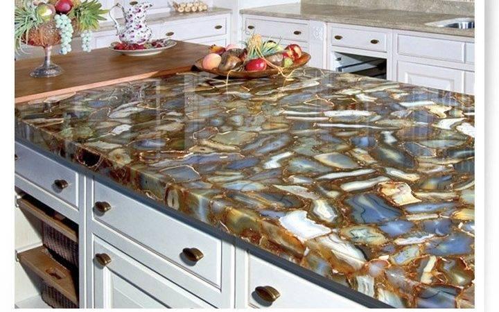 Agates Kitchen Countertops Pinterest