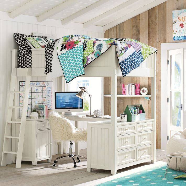 Ahhhh Teen Loft Bed Bedroom Pinterest