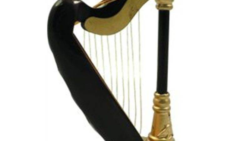 Aim Gifts Harp Ornament Music