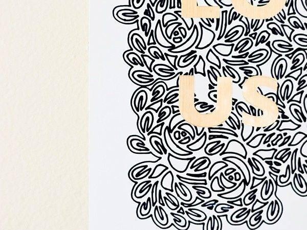Air Easy Faux Stamped Gold Foil Art Print Tutorial Brenda Bird