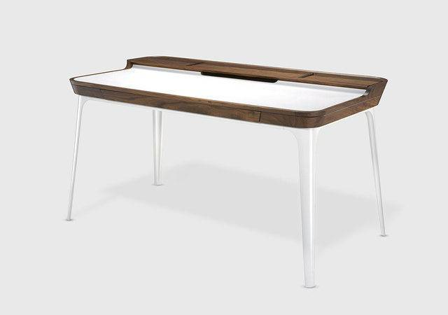 Airia Desk Contemporary Desks Hutches Living Edge
