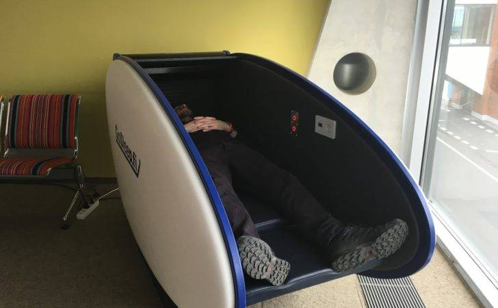 Airport Sleeping Pods Fits Big Person Like