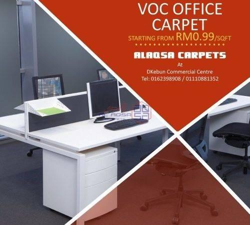Alaqsa Carpets Voc Office Carpet Flooring Price