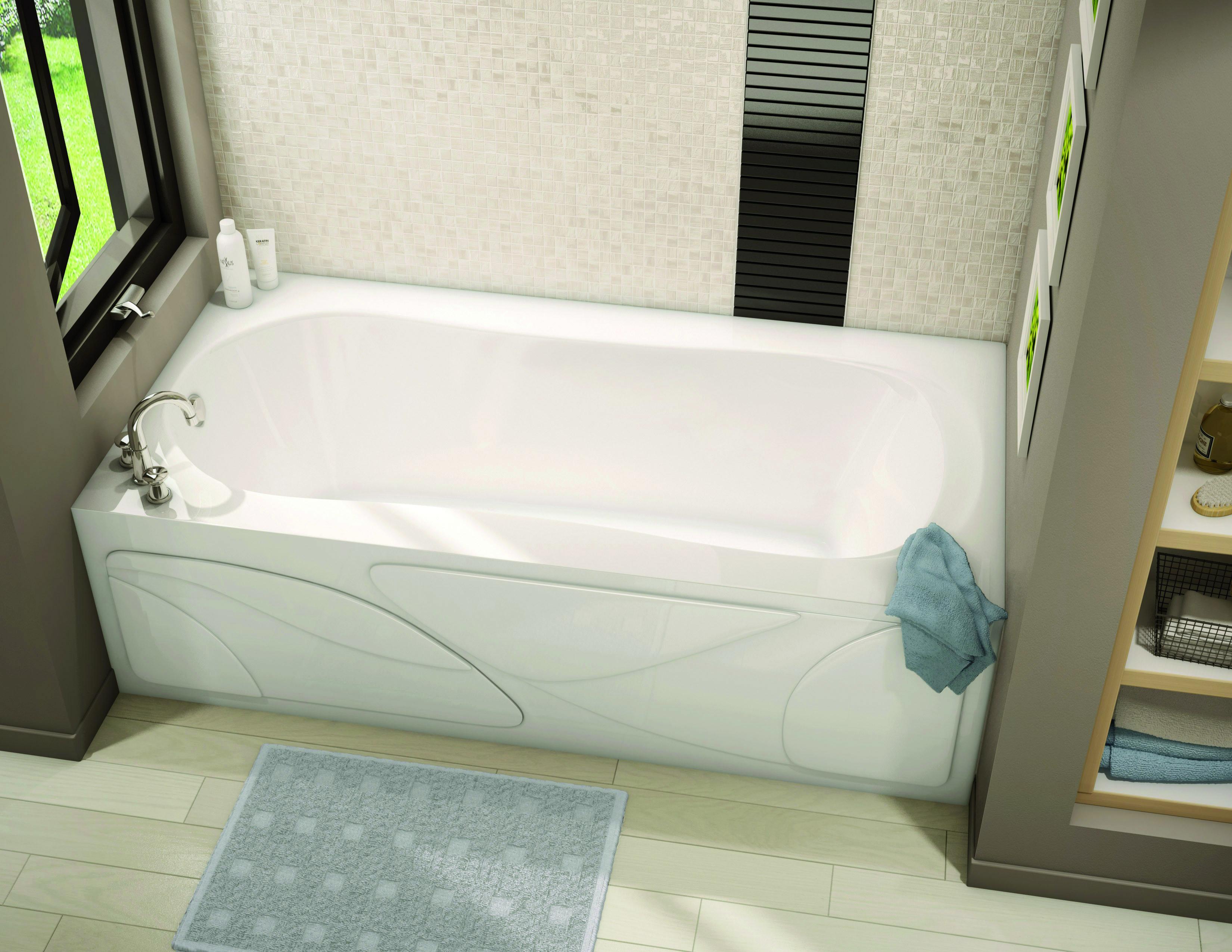 Alcove Bathtub Pearl