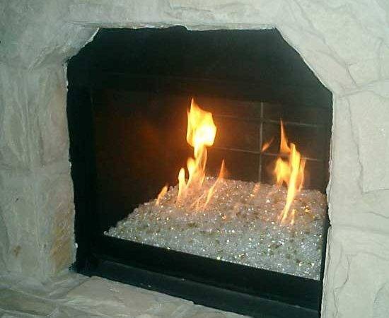 Alfa Img Showing Gas Fire Glass