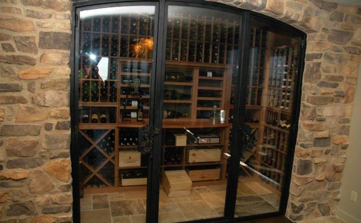 Alfa Img Showing Wine Cellar Glass Doors