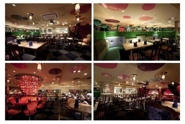 Alice Wonderland Restaurant Inspiration Pinterest